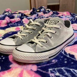 BOGO FREE Gray Velvet Converse